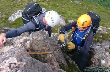 Scrambling in Scotland with Jim Sutherland