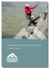 Mountaineering and Climbing Instructor Candidate Handbook