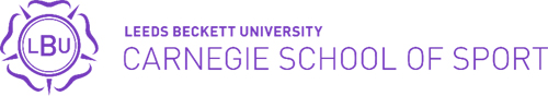 Leeds Beckett Carnegie School of Sport logo