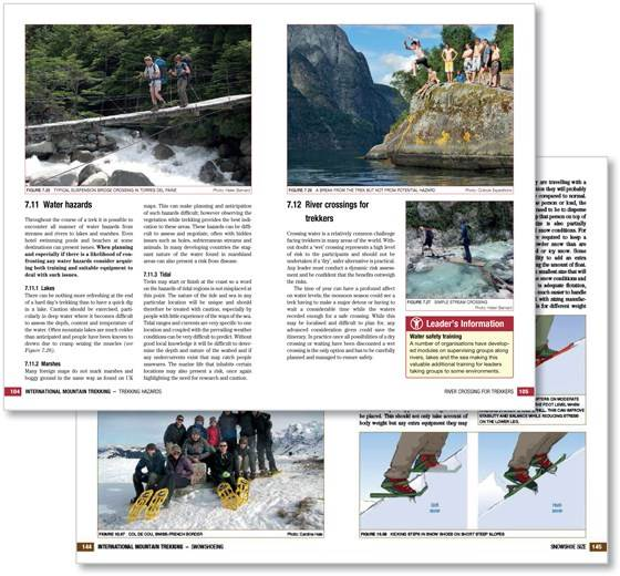 International Mountain Trekking sample page 1