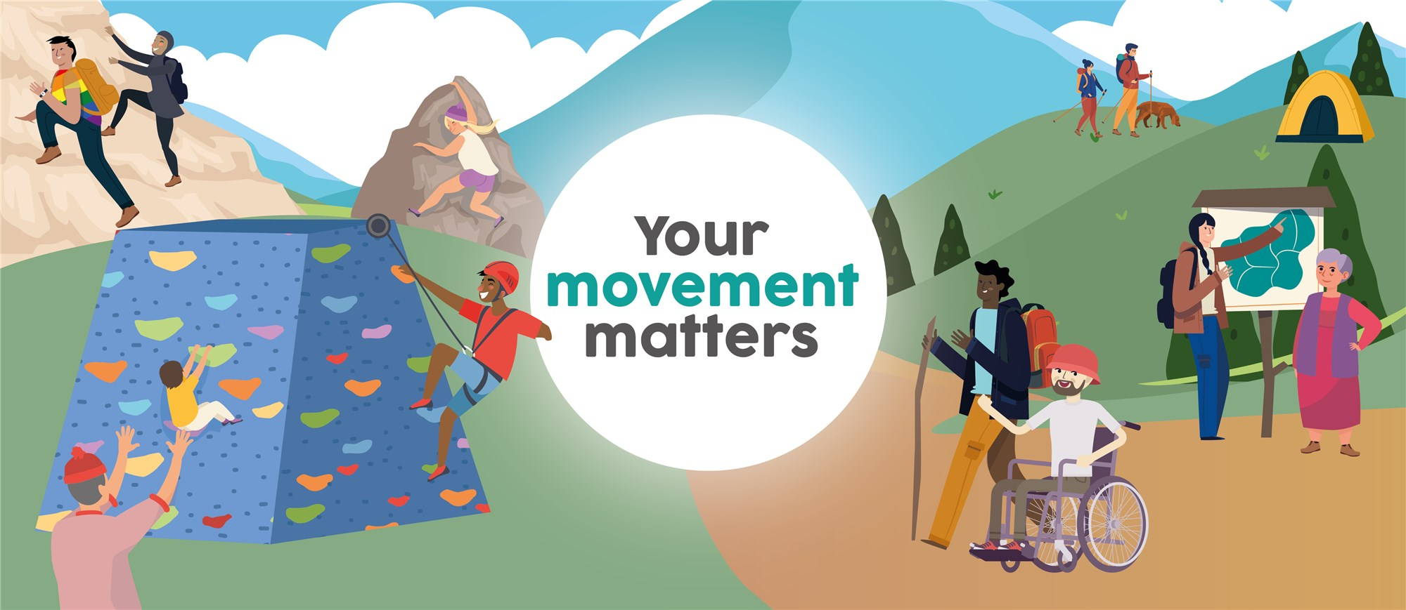 Your movement matters banner