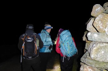 Lakes Night Nav in November