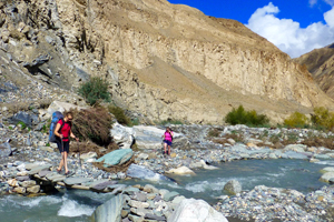 Hiking the Markah Valley trek Indian Himalaya