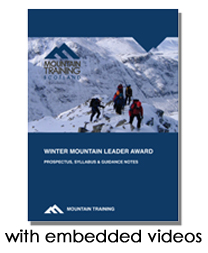 Winter Mountain Leader Handbook with embedded videos
