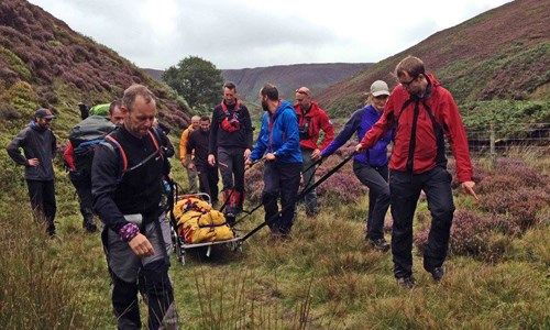 Working with Bowland Mountain Rescue