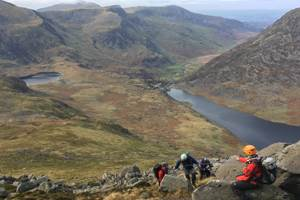 Scrambling in Ogwen c. Peter Coville